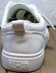 Летние кеды женские белые кожаные El Passo 820 All White.