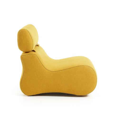 Кресло Club желтое