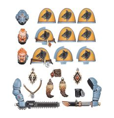 Space Wolves Primaris Upgrade Pack