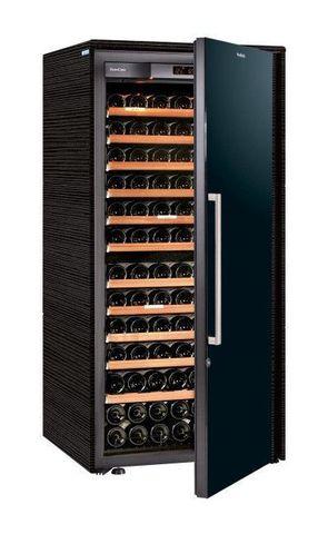 Винный шкаф EuroCave S Collection M чёрный, сплошная дверь, максимальная комплектация