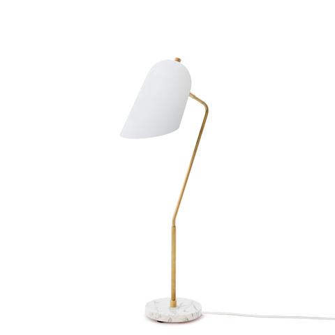 Настольный светильник копия Cliff by Lambert & Fils (белый)