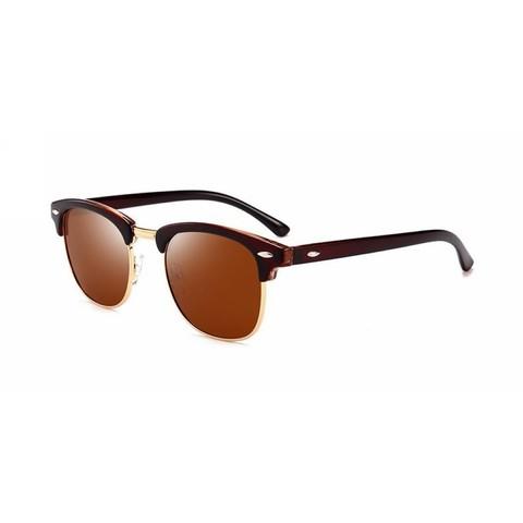 Солнцезащитные очки поляризационные 3016002p Коричневый - фото