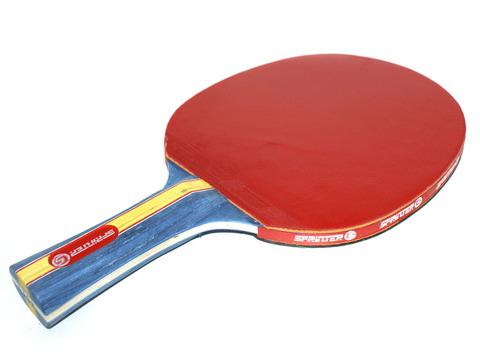 Ракетка для игры в настольный тенис Sprinter 3***, для опытных игроков. Скорость: 6 Вращение: 7 Контроль: 7 :(S-303):