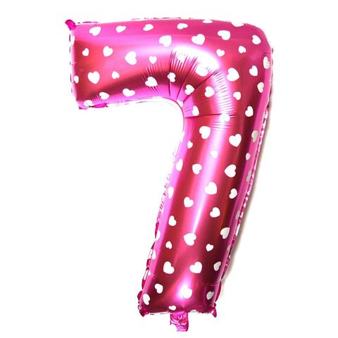 Цифры Розовый 102 см