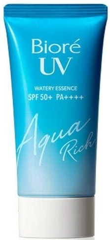 Biore UV Aqua Rich Watery Essence солнцезащитная эссенция для лица SPF50+ 50мл