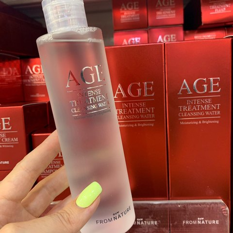 From Nature AGE Intense Treatment Cleansing Water (200ml 6.7 oz)