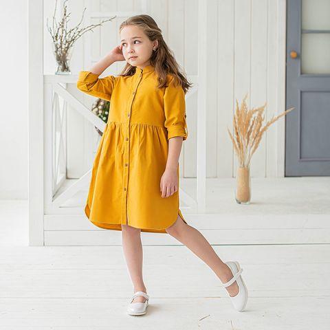 Платье-рубашка фланелевое