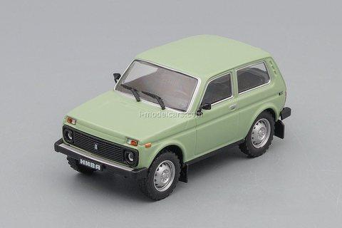 VAZ-21213 Niva 1994 green 1:43 DeAgostini Auto Legends USSR #279