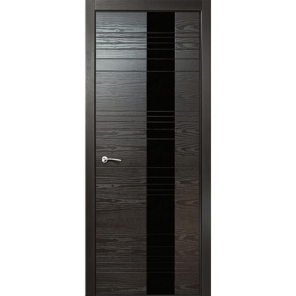 Цвет Межкомнатная дверь шпонированная Milyana ID HL неро с чёрным стеклом id-hl-nero-dvertsov.jpg