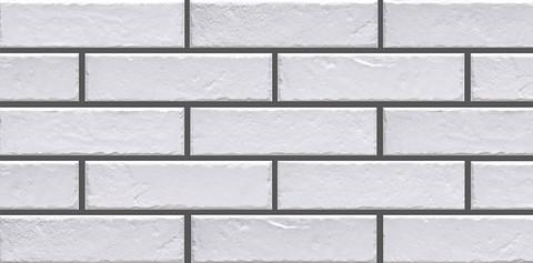 Cerrad Foggia Bianco, белая - Клинкерная плитка для фасада и внутренней отделки