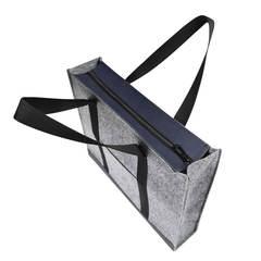 Войлочная сумка Gmakin Milana с елементами кожзама