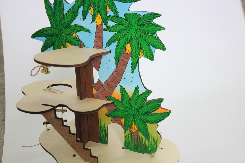 """Дерево-конструктор """"Пальма"""""""