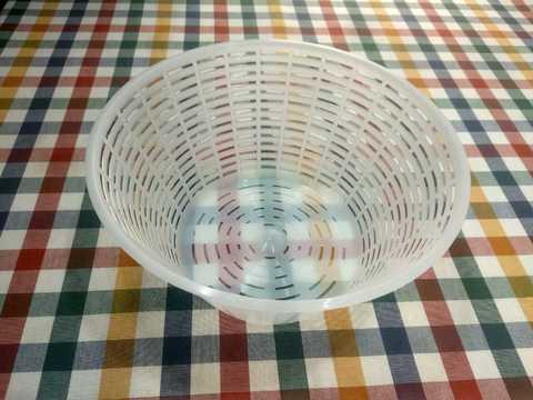 Классическая форма для домашнего сыра Итальянская корзинка, фото