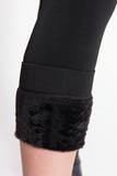 Утепленные лосины для беременных 05011 черный