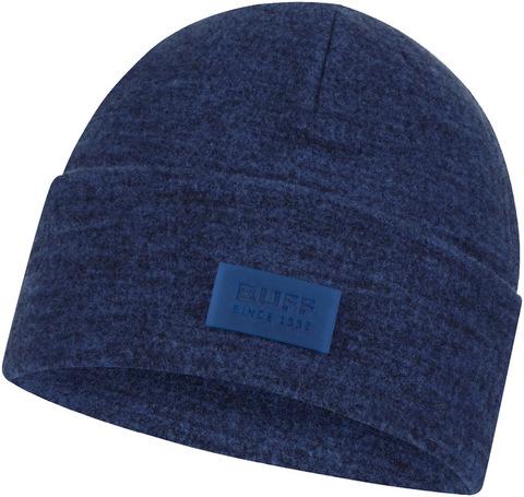 Шерстяная шапка с флисом Buff Hat Wool Fleece Olympian Blue фото 1