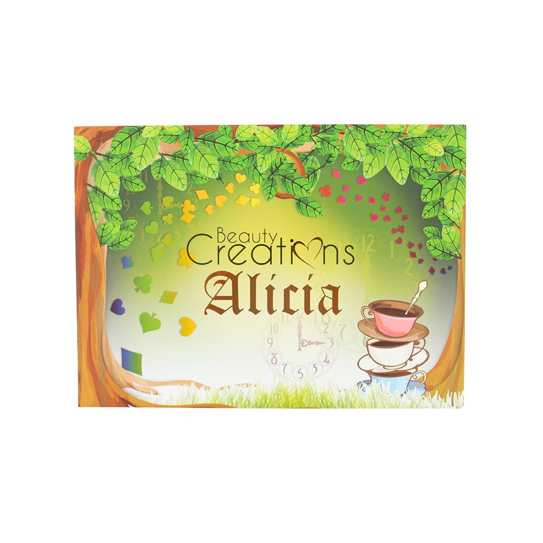 Палетка теней ALICIA