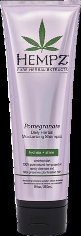 Шампунь растительный Гранат легкой степени увлажнения / Hempz Daily Herbal Moisturizing Pomegranate Shampoo