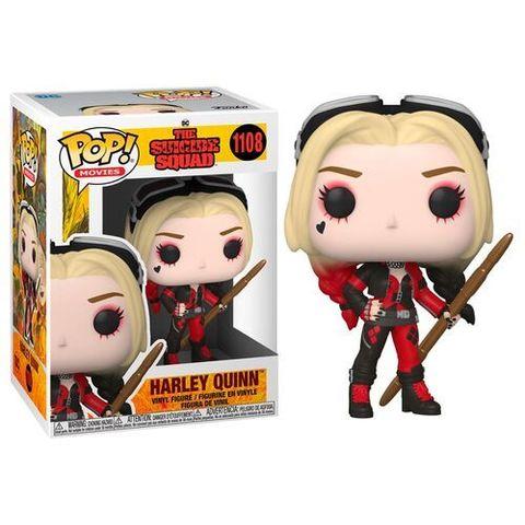Funko POP! Movies The Suicide Squad Harley Quinn (Bodysuit) (1108)