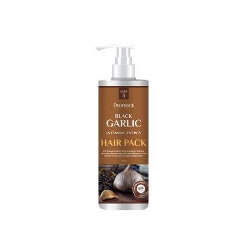 DEOPROCE HAIR BLACK GARLIC Маска для волос с экстрактом черного чеснока BLACK GARLIC INTENSIVE ENERGY HAIR PACK 1000 мл