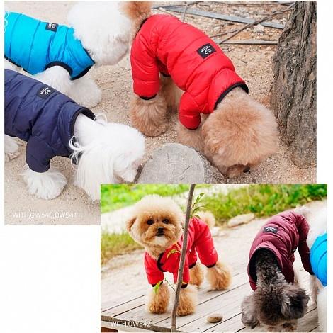 демисезонные комбинезоны для собак