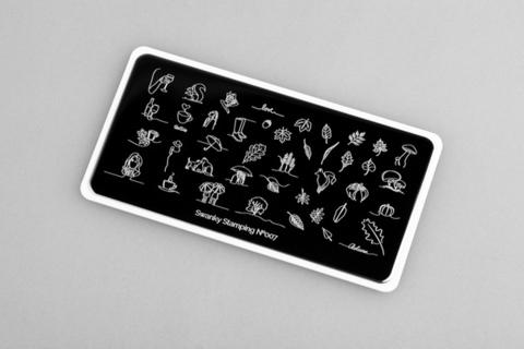 Пластина Swanky Stamping №007