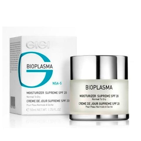 Gigi Bioplasma Moist Cream SPF 17, Увлажняющий крем для жирной кожи с SPF 17, 50 мл.