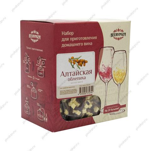 """Набор для приготовления вина """"Алтайская облепиха"""" Beervingem"""