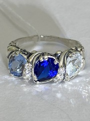 Анданте (кольцо из серебра)