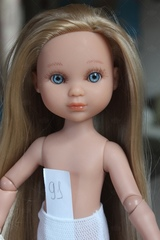 Шарнирная кукла Ева Рапунцель, Berjuan (Берхуан) 35 см