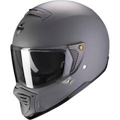 Мотошлем Scorpion EXO HX1 Solid, тёмно-серый матовый