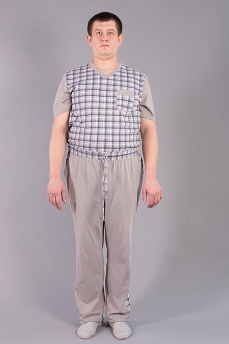 Лекала мужских трикотажных брюк