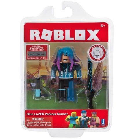 Роблокс Паркурщик с голубым лазером