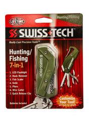Набор инструментов Swiss+Tech для охоты\рыбалки Modular Tool System-Hunting/Fishing, зеленый
