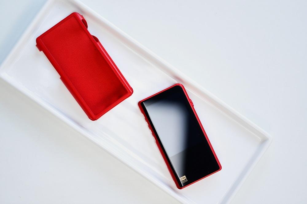 Чехол для плеера Shanling M5s. Цвет: красный