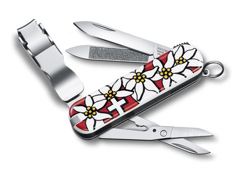 Нож Victorinox Classic Nail Clip 580, 65 мм, 8 функций,