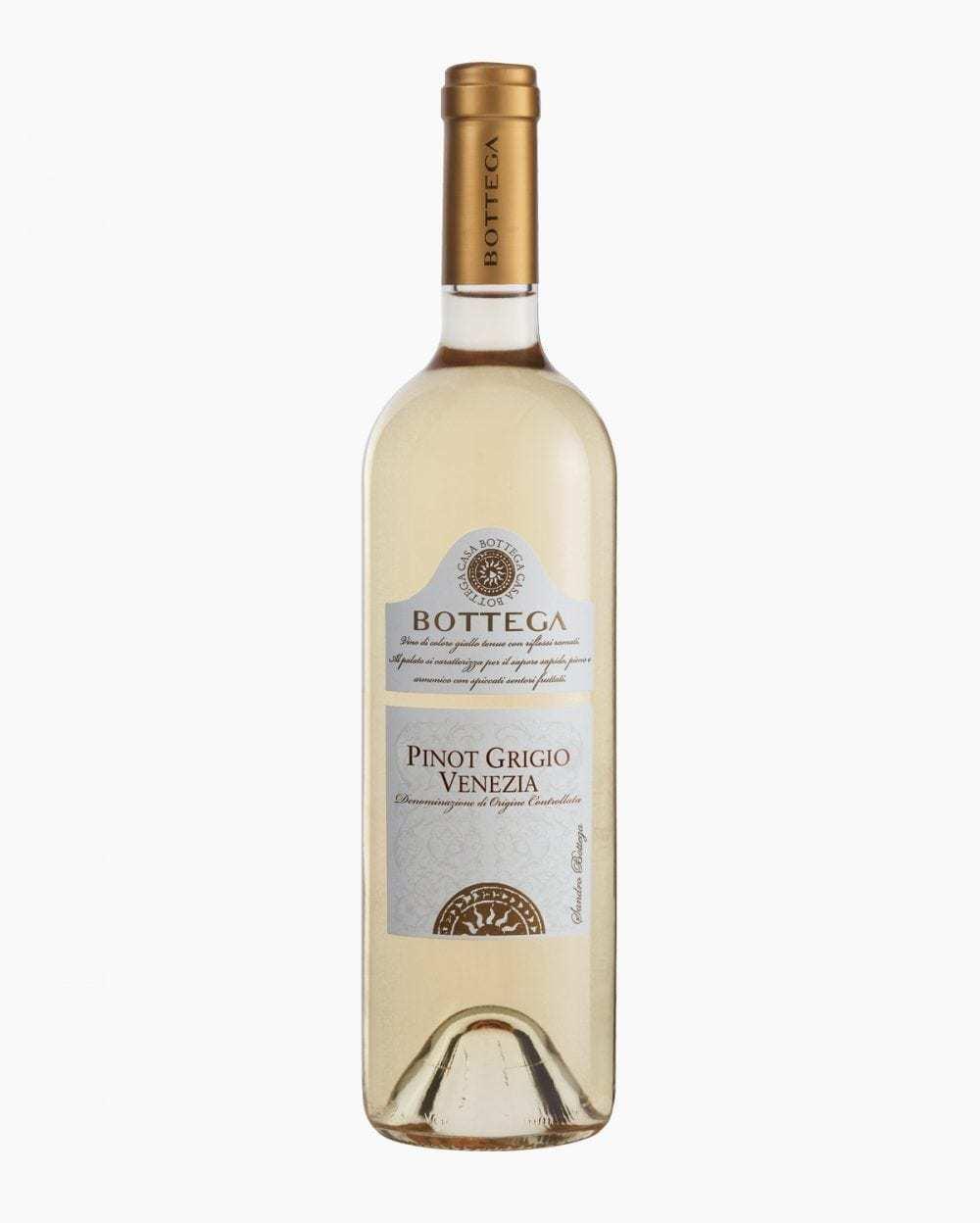 Вино Белое Сухое Bottega Пино Гриджио Венециа 12%, 0,75 л.