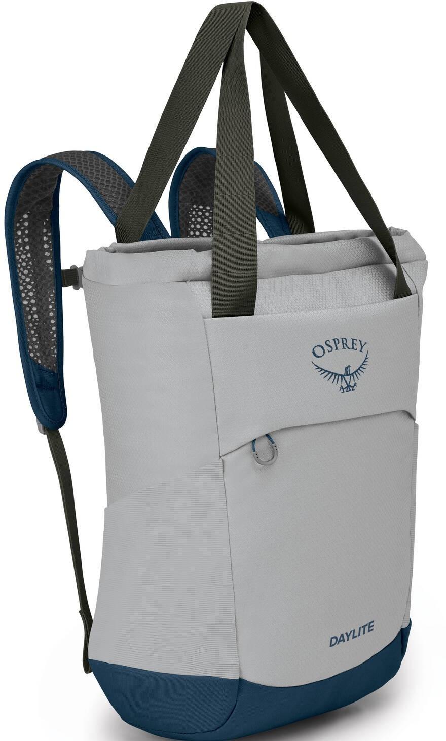 Городские рюкзаки Рюкзак Osprey Daylite Tote Pack 20, Aluminium Grey Daylite_Tote_Pack_S21_Side_Aluminum_Grey_web.jpg