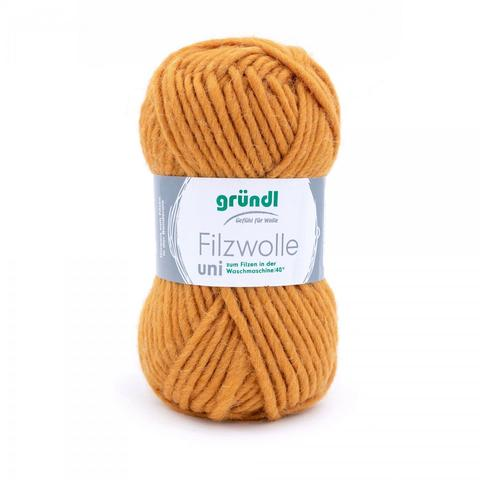 Filzwolle Uni 55