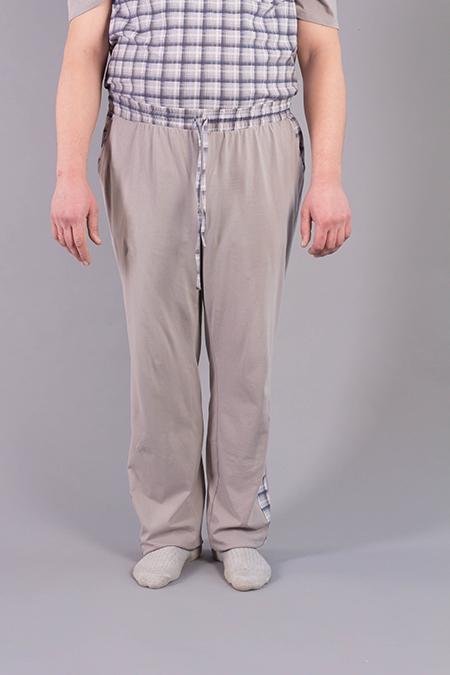 Лекала мужских брюк на завязках