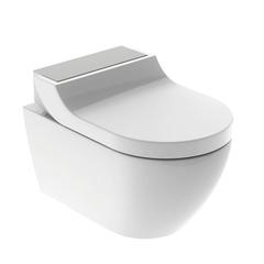 Комплект унитаз и крышка-биде GEBERIT AquaClean Tuma Comfort 146.294.FW.1 (панель нерж. сталь)