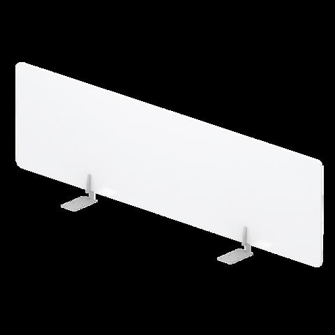 Экран оргстекло настольный фронтальный для отдельного стола.