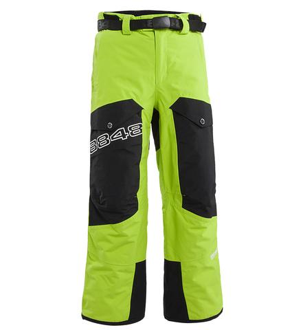 Брюки горнолыжные детские 8848 Altitude «FLUX» Lime