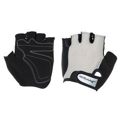 Велоперчатки JAFFSON SCG 46-0398 (чёрный/серый)