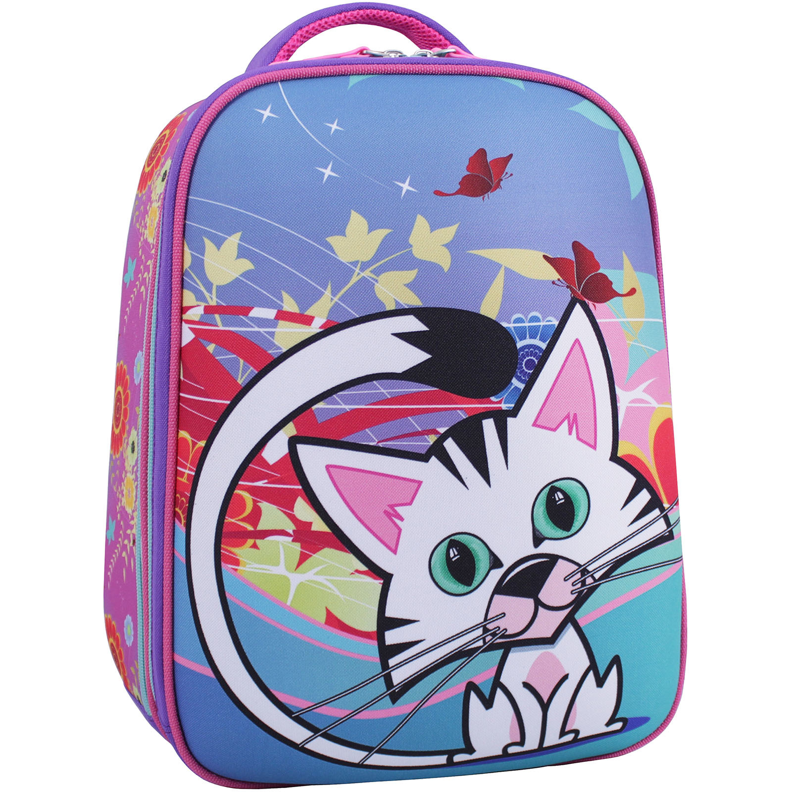 Школьные рюкзаки Рюкзак Bagland Turtle 17 л. фиолетовый 502 (0013466) IMG_1823_суб.502_.JPG