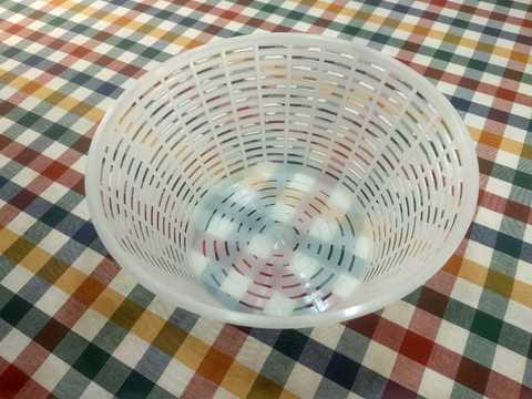 Пластиковая форма для домашнего сыра без прессования, Anelli Lodi