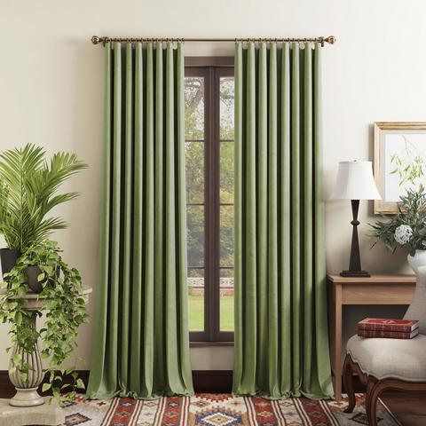 Комплект штор Тейлор светло-зеленый