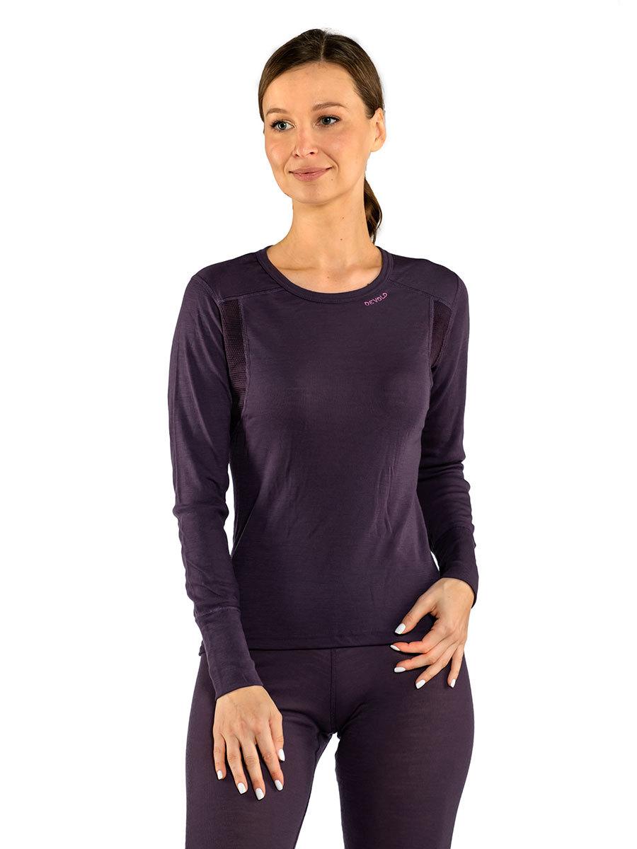 Devold термобелье футболка Hiking Woman Shirt Figs