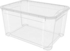 Ящик с крышкой 555х390х290 мм прозрачный
