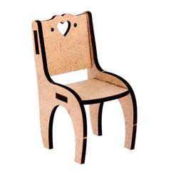 Столовая для игрушечного дома из фанеры