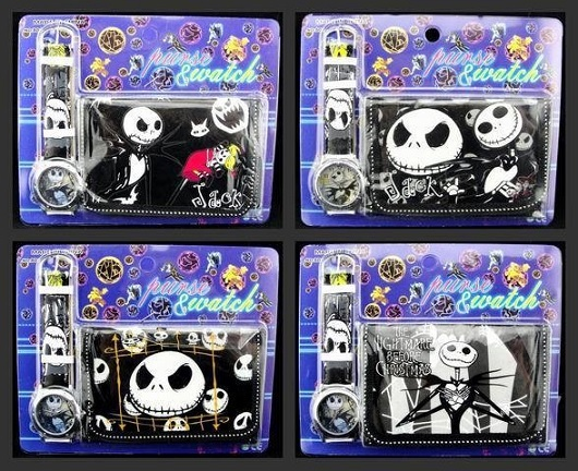 The Nightmare Before Christmas Watches and Purses